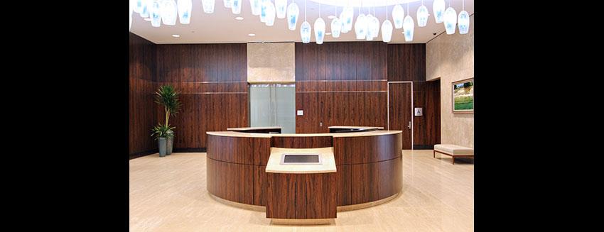 Reception Architectural Millwork